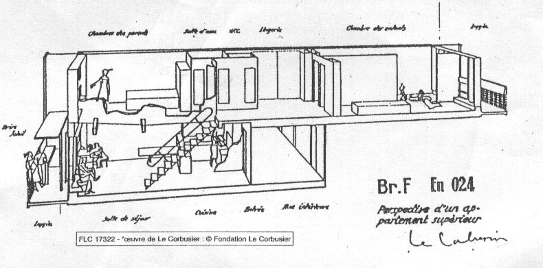corbusier drawing