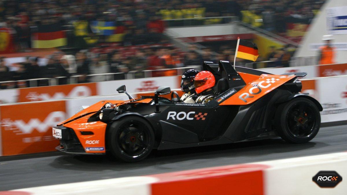 Diego Rodriguez Michael Schumacher Race of Champions Beijing metacool