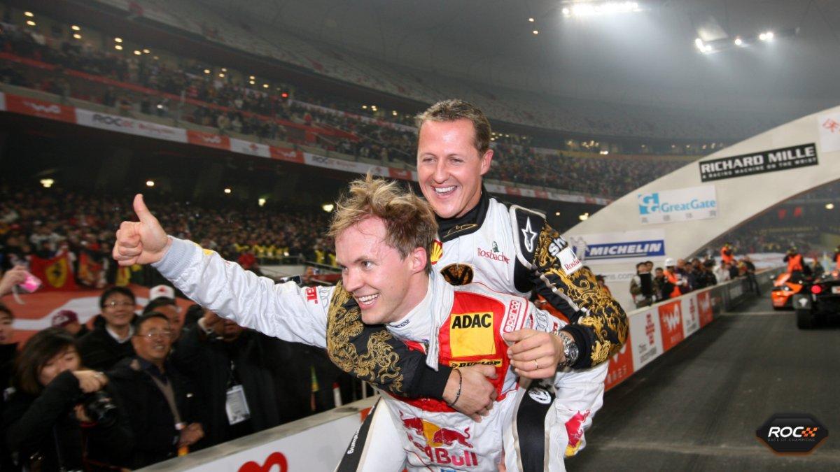 metacool Schumacher Ekstrom Race of Champions Beijing